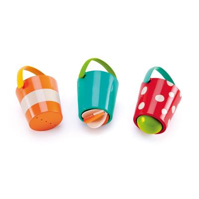 Hape花式水漏桶組合套寶寶洗澡浴室玩具年齡段12個月以上男孩女孩玩具