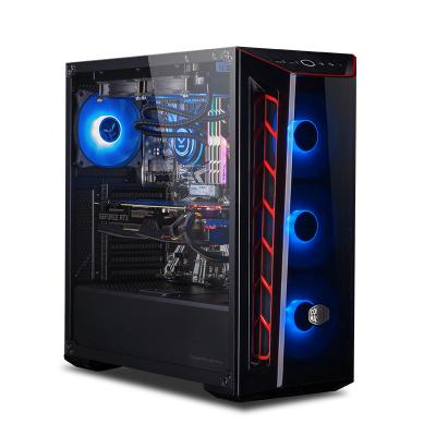 攀升 intel 八核i7 9700K/RTX2080 8G/16G RGB內存/256G NVME硬盤 電競發燒 游戲主機 臺式主機 DIY組裝機 吃雞電腦主機