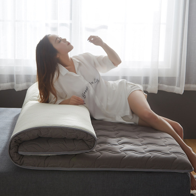 鹿小姐 新款水洗棉單邊5厘米加厚床墊