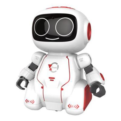 盈佳 新新家族卡奇智能對話早教機器人 語音操控 變聲錄音 軌跡識別 歌舞故事兒童益智趣味玩具 亮紅色