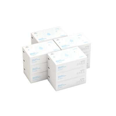 棉花秘密保濕柔紙嬰兒紙巾抽紙寶寶柔軟保濕紙非濕巾100片裝12大包