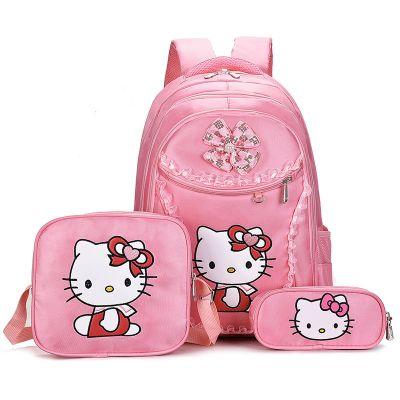 儿童书包小学生女孩1-3-6一年级女童幼儿园书包可爱公主减负背包