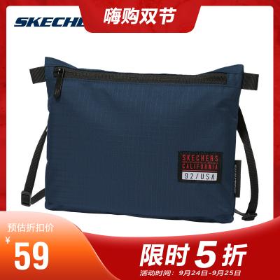 Skechers斯凱奇男女同款簡約時尚單肩斜挎包運動休閑包L419U034