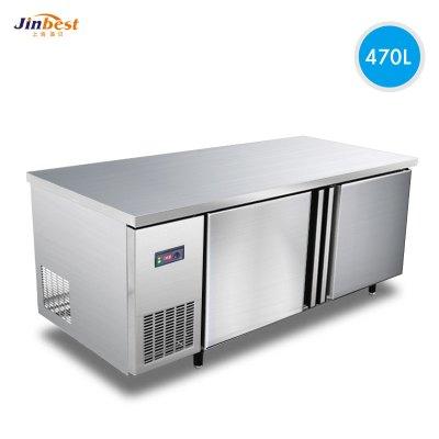 晶贝(jinbest)1800*800厨房操作台 商用冷冻冰柜 平冷工作台 卧式冷柜 厨房冰箱冰吧