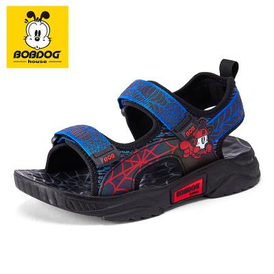 巴布豆BOBDOG HOUSE童鞋童鞋2020新款夏季兒童涼鞋男女童時尚中大童沙灘鞋子