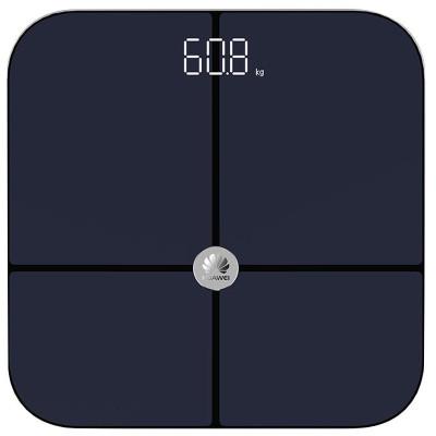 華為(HUAWEI)體脂稱CH18 成人體脂秤智能健康智能電子秤減肥脂肪人體秤家用體重秤 精準APP數據測量 黑色
