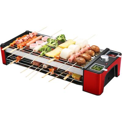 尚烤佳電烤爐家用電烤爐無煙烤肉爐電烤肉機雙層燒烤架不粘烤串機LZW-1601B