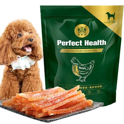 耐威克寵物狗零食貴賓泰迪金毛比熊犬種通用柔軟雞肉條100g