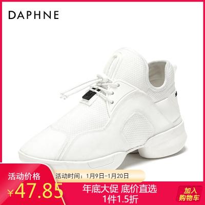 Daphne/达芙妮新款时尚ins风个性老爹鞋原宿单鞋子女1018101044