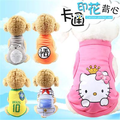 寵物小狗狗衣服春夏裝薄款可愛夏天泰迪小型幼犬博美柯基比熊