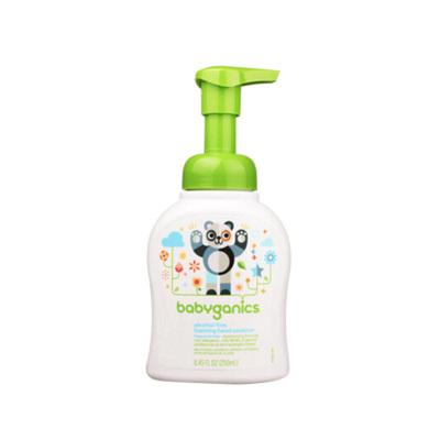 【效期20年11月】美國甘尼克寶貝免洗抗菌寶寶泡沫洗手液安全溫和無香型6個月以上適用 250ml/1瓶裝