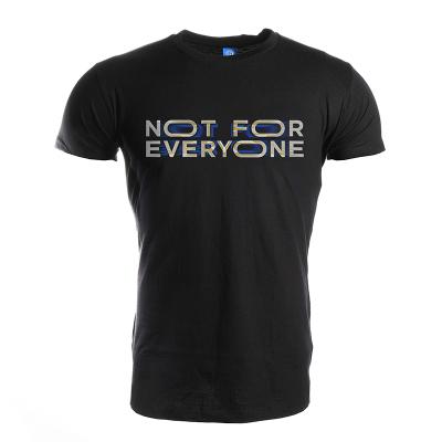 國際米蘭短袖Not For Everyone全球限量同款舒適透氣純棉夏季運動體育休閑球迷足球服男士T恤新款上衣圓領打底衫