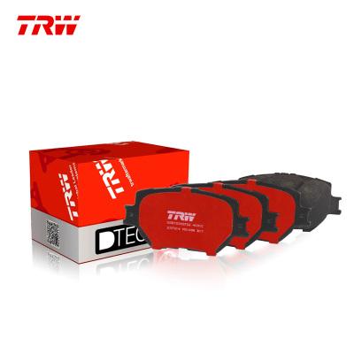 天合(TRW)后剎車片.陶瓷GDB3311DT適用于10-15款福美來 1.6L/1.8L