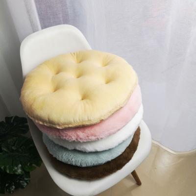 家用毛绒圆椅垫懒人地上屁股垫子北欧卧室客厅榻榻米飘窗坐垫