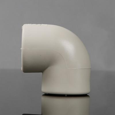 帮客材配 金潮热PPR90℃等径弯头灰色DN20_400个/箱