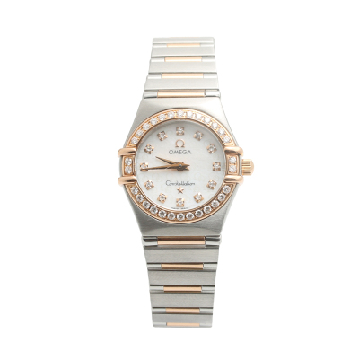 【二手95新】歐米茄OMEGA星座系列1358.75.00女表石英奢侈品鐘手表腕表