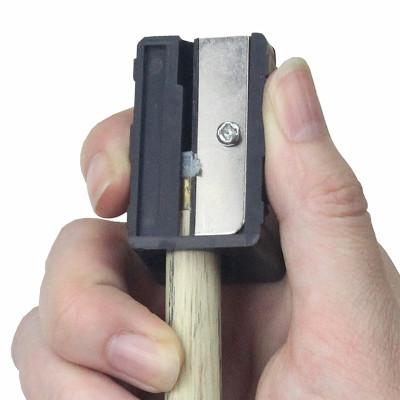 臺球桿皮頭削刨刀修桿器美式黑八8九球桿斯諾克球桿修理工具