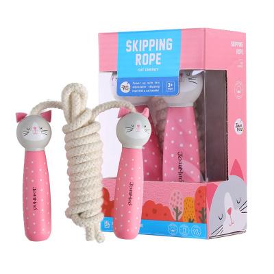 JoanMiro美乐 儿童户外跳跃类玩具 幼儿跳跳玩具幼儿园初学小孩专用可调节儿童跳绳 猫咪款