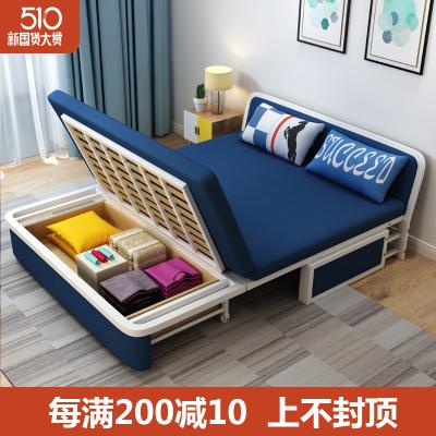 尋木匠可折折疊沙發床客廳小戶型1.2/1.5米單人雙人兩用多功能沙發可儲物