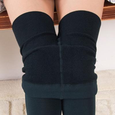 拉毛褲拉絨加絨厚打底褲顯瘦修身保暖踩腳連褲襪打底褲襪子