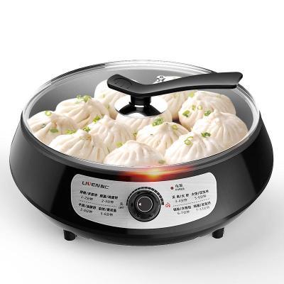 利仁(Liven)LR-J321電煎鍋單面加深電餅鐺大號家用烙餅鍋水煎包煎烤機牛排機