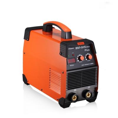 315电焊机工业级双电压220V380V家用小型两用直流全铜焊机 315双电压工业款标准配