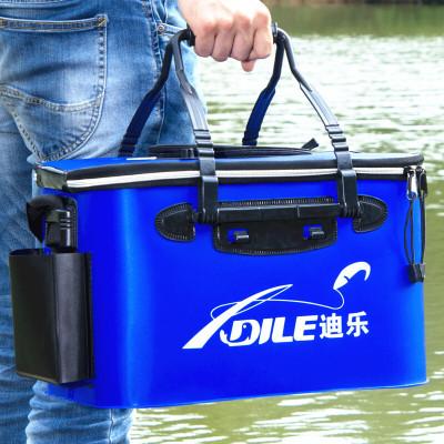 为恩(WEIEN) EVA加厚折叠钓鱼桶鱼护桶活鱼桶钓箱装鱼箱养鱼水桶水箱渔具