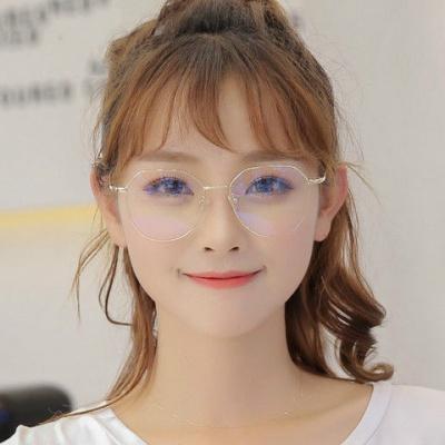 【精品好貨】防輻射眼鏡防藍光眼鏡框女平光鏡手機電腦護眼鏡保護眼睛男近視鏡 邁詩蒙