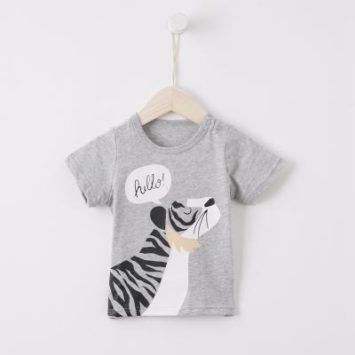 【99元4件】moomoo童裝男幼童短袖T恤夏裝新款兒童小寶寶純棉卡通童短袖上衣
