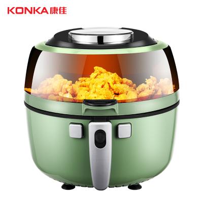 康佳(KONKA)空氣炸鍋KGKZ-6505 家用智能大容量全自動無油電炸鍋多功能炸鍋迷你小烤箱 炸薯條機
