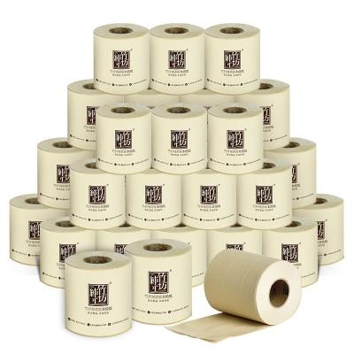 纯竹工坊 卷纸 PURE系列有芯3层*100克*24卷 竹浆本色无添加卫生纸巾(新老包装交替发货)