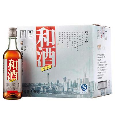 和酒 银标 黄酒 13度 555ml*12瓶 整箱装