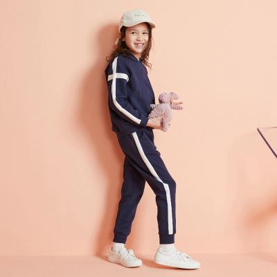 【1件3折价:93】moomoo童装中童卫衣套装新款春秋装韩版潮连帽儿童棉