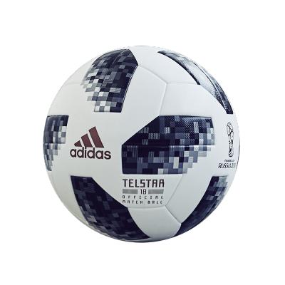 adidas阿迪达斯2018世界杯5号机缝训练用球CE8096