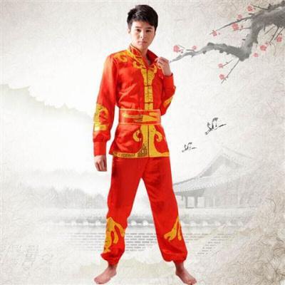 因樂思(YINLESI)新款舞龍舞獅服裝民族打鼓服腰鼓演出服裝鑼鼓服男女龍燈服秧歌服