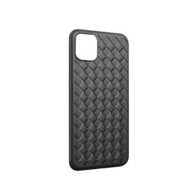 【二手99新】iPhone11-iPhone11Pro max 軟硅膠編織皮紋防摔套 需要購買聯系客服