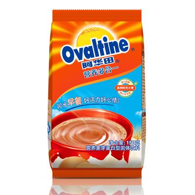 阿华田(Ovaltine)可可粉 营养早餐代餐 奶茶冲饮 蛋白型固体饮料150g