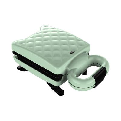 蘇寧極物 格伊三明治機早餐機輕食機華夫餅機面包機多功能加熱鍋吐司壓烤機