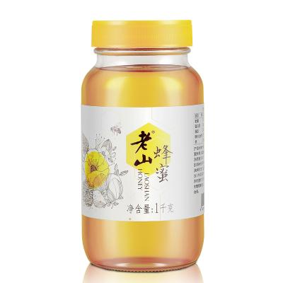 老山蜂蜜1000克/瓶纯瓶天然农家自产洋槐蜜百花源野生土蜂蜜
