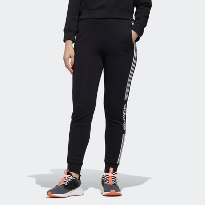 Adidas阿迪達斯女褲neo褲子2020新款運動褲收口長褲FP7474