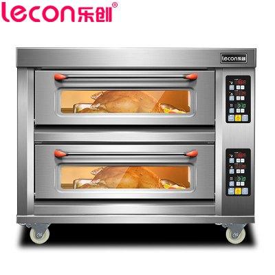 【(lecon)樂創電器旗艦店】YXD-Z202 商用烘培爐電烤箱 二層二盤電烤箱 微電腦控制