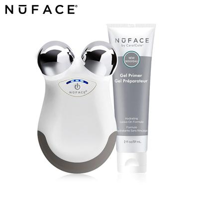 NuFace美國進口電子美容儀mini白色 ATP膠原蛋白去皺提拉 EMS/微電流 瘦臉 提拉緊致 Nuface便攜式