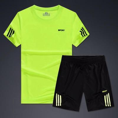 新款排球服套裝男女款隊服定制印字速干透氣比賽訓練短袖氣排球服