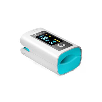 力康(Heal Force)语音血氧仪 便携式指夹式脉搏血氧饱和度检测仪 家用手指脉氧Prince-100N