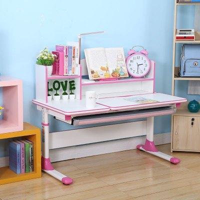 啟冠兒童學習桌小學生書桌 寫字桌椅套裝可升降 課桌椅家用C120