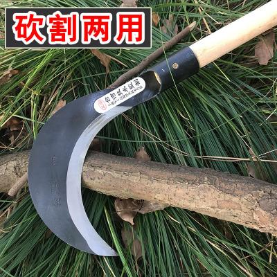 符象農用鐮刀割刀戶外打彎刀割兩用廉刀收割玉米豆雜刀鋒利