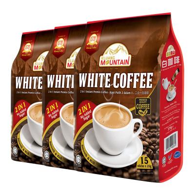 3袋装|Cap Televisyen 电视机牌 南山白咖啡 2合1 375g 袋装 马来西亚原装进口 速溶咖啡