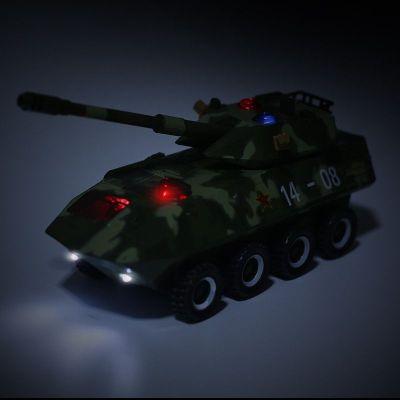 绿色迷彩 T99坦克1:32合金T99主战坦克模型防空装甲车军事战车儿童玩具金属车
