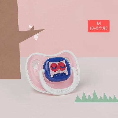 babycare嬰兒安撫奶嘴硅膠超軟新生兒寶寶奶嘴母乳實感仿真奶嘴 M碼 3-6個月 納布里叢林 1062