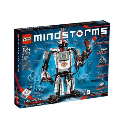 LEGO/樂高 科技組MINDSTORMS 31313型號 EV3第三代機器人 601顆粒 拼插玩具 10歲以上適用